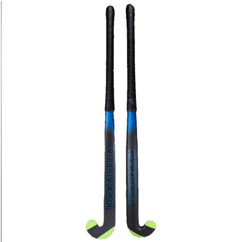 Kookaburra 2018 Ultralite Xenon L-Bow Extreme 1.0 Field Hockey Stick Black/Blue