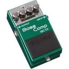 Boss BC-1X Bass Comp - Compression Effects Pedal For Bass Guitar