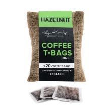 20pc Lily Kerridge Coffee Hazelnut Coffee T-Bags | Hazelnut-Flavoured Coffee