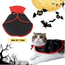 Pet Dog Cat Vampire Cloak Costume Halloween