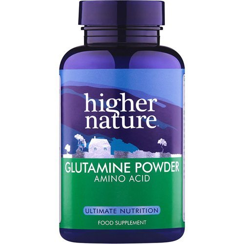 Higher Nature  Glutamine Hard Working Amino Acid Tablets 90s