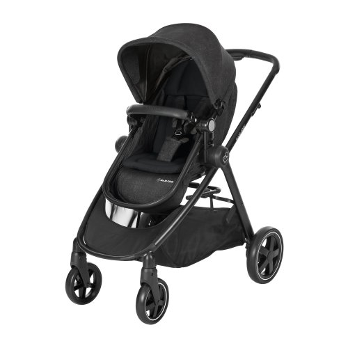 Maxi-Cosi Zelia 2-1 Compact Urban Stroller from Birth, Nomad Black