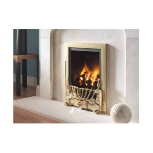 Designer Fire - Flavel FRDC14MN Brass Kenilworth Traditional Gas- MC