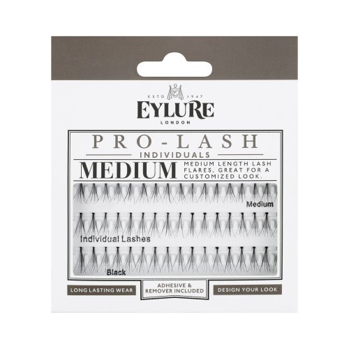 Eylure Pro Lash Individual Lashes, Medium