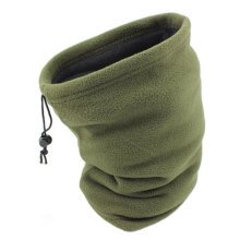 Unisex Warm Scarf Loop Scarfs Headscarf Head Wrap Neck Scarves, Army Green
