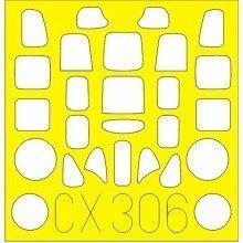 Edmcx306 - Eduard Masks 1:72 - A6m2 Zero (airfix)
