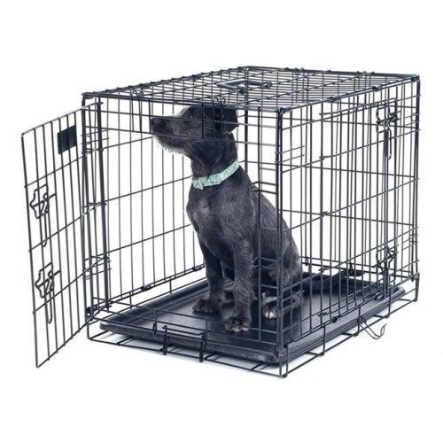 Petmaker 80-301501 30 x 19 in. Door Foldable Dog Crate Cage