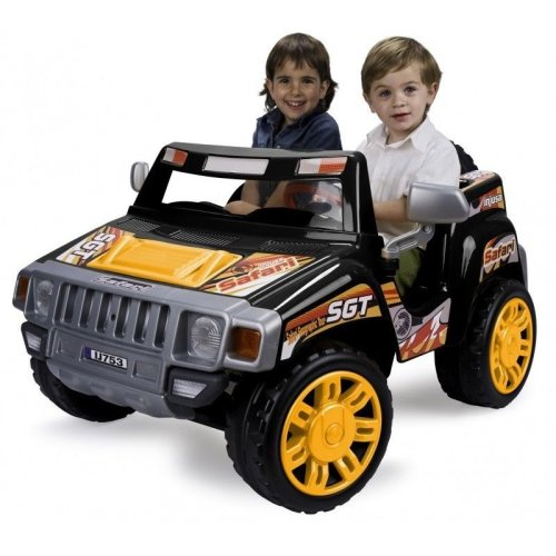 Injusa Evasion Safari Two Seater 12V Electric Ride On Jeep Car Kids child RT-753