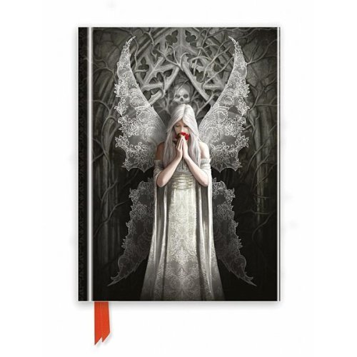 Only Love Remains Foiled Notebook - Anne Stokes
