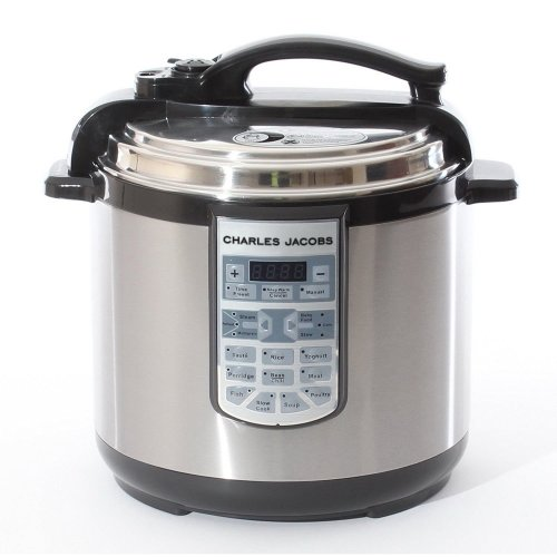 7-in-1 Stainless Steel Pressure Cooker - 8L | Multi-Function Electric Pot