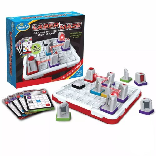 Thinkfun Beam Bending Logic Game Kids Children Challenge Game Laser Maze 541014