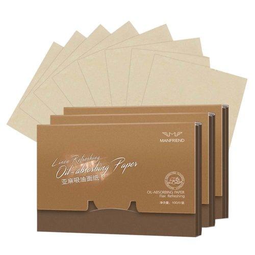 300 Sheets Portable Facial Oil Control Absorption Film Tissue Blotting Paper