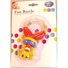 First Steps Fun Rattle Teether