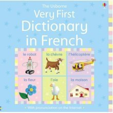 Very First Dictionary in French (Usborne Illustrated Dictionaries)