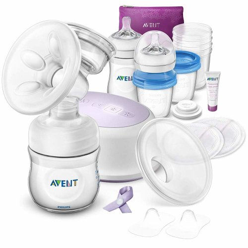 Philips Avent Single Electric Breast Pump Feeding Set - SCD292/31