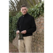 ProQuip Half Zip Merino Water Repellent Jumper Black Medium