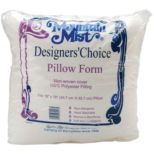 "Mountain Mist Designer's Choice Pillowform-18""X18"" FOB: MI"