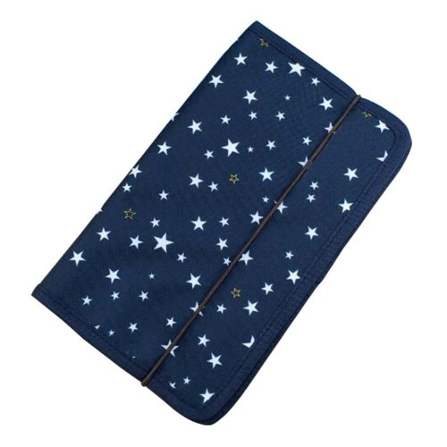 A5 Multilayer File Pocket Student Files Organizer Portable Briefcase-Star