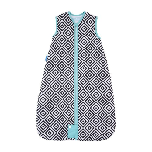 The Gro Company Grobag Jet Diamonds Travel Baby Sleeping Bag - 6-18m - 2.5 Tog
