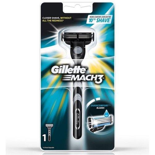 Gillette Mach3 Razor with 1 cartridge