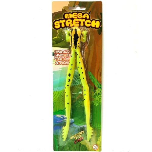 Mega Stretch Frog Toy - Stretches to 5ft long! Assorted Colour