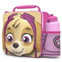 Paw Patrol Pink Skye 3d Thermal Lunch Bag With Sports Bottle - New Set Box Gift -  3d lunch bottle paw patrol skye bag new set box gift thermal drink