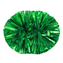 2PCS Team Sports Cheerleading Poms Match Pom Dance Supplies-Green
