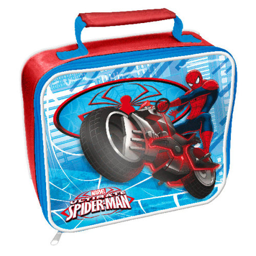 Spider-man Rectangle Bag, Multi-colour - Lunch Bag Spiderman School New Box -  lunch bag spiderman school new box gift marvel ultimate