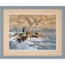 D35205 - Dimensions Counted X Stitch - Winter Retreat