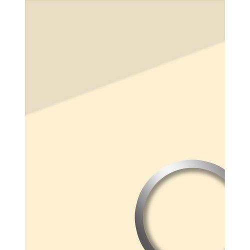 WallFace 17940 UNI MAGNOLIA adhesive wall panel glass look beige cream 2.6 sqm