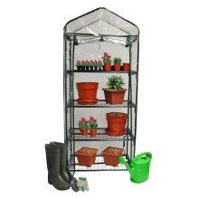 4 Tier Greenhouse Cover Waterproof Outdoor Garden Pe