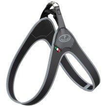 TRIXIE Step-in Harness Pratiko Size XXS 30 cm Black 105001