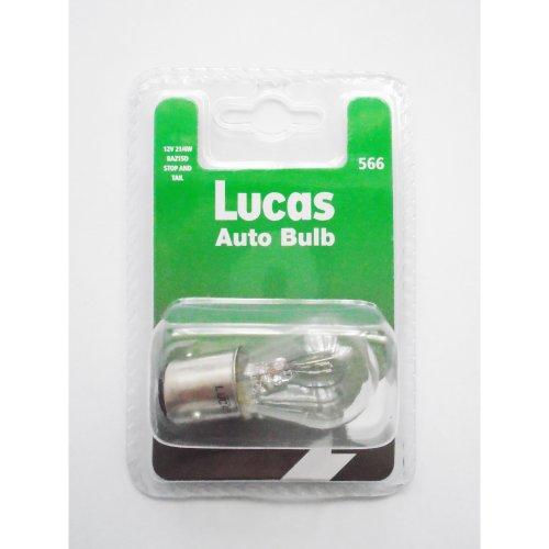 Lucas llb566 bau15s car light bulb lamp p21/4w 12v