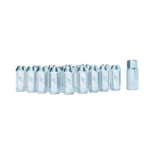 Mishimoto MMLG-15-LOCKSL  Aluminium Locking Lug Nuts, M12 x 1.5, Silver