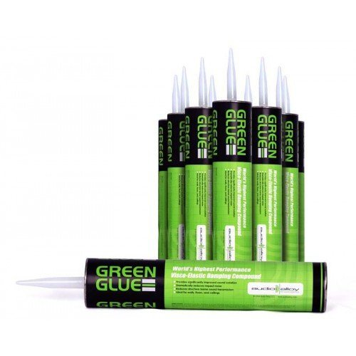 Green Glue Noiseproofing Compound, Carton of 6