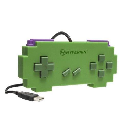 Hyperkin USB Pixel Art Controller for PC/MAC (Green)