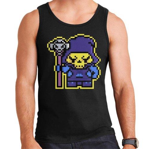 Pixel Skeletor Men's Vest