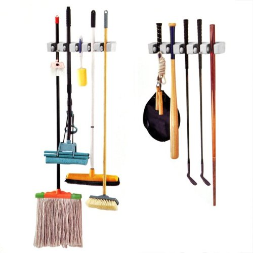 Trixes Wall Storage Holder | Garden Tools Rack