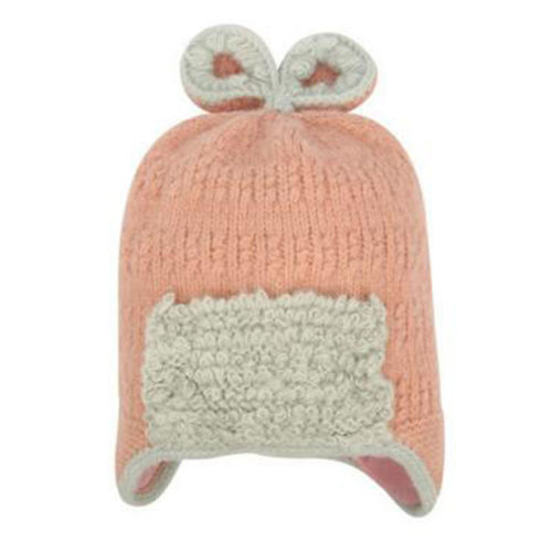 Winter Cute Kid Beanie Hat Warm Children Beanie Cap Ear Warmer, C