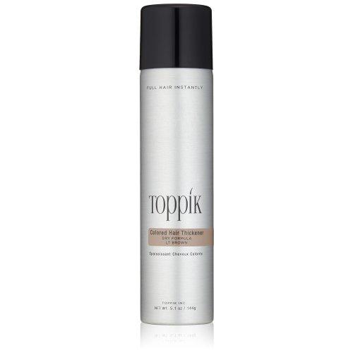 TOPPIK Coloured Hair Thickener, Light Brown 144 g