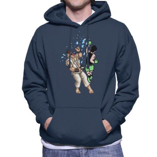 Pixel Fight Punch Out Ryu Street Fighter Men's Hooded Sweatshirt