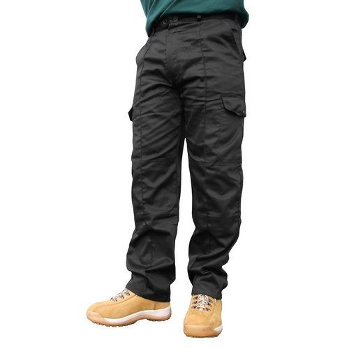 "Click PCTHWBL30 Super Polycotton Work Trousers Black 30"" Regular"