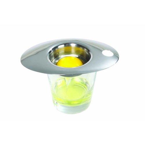 Stainless Steel Deluxe Egg Separator - Master Class Yolk Kitchen White -  stainless steel egg separator master class yolk deluxe kitchen white