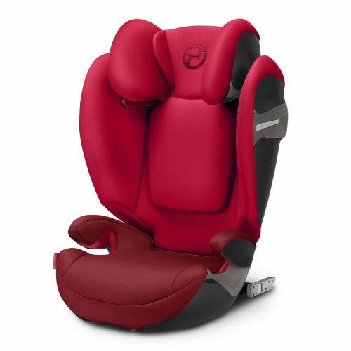 cybex gold solution s fix car seat group 2 3 rebel red on onbuy. Black Bedroom Furniture Sets. Home Design Ideas
