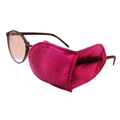 12PCS Amblyopia Eye Mask For Glasses Strabismus Lazy Eye Patches Large-Rose Red