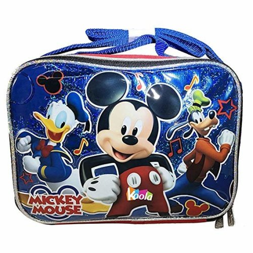 Lunch Bag - Disney - Mickey and the Roadster Racers New 002107