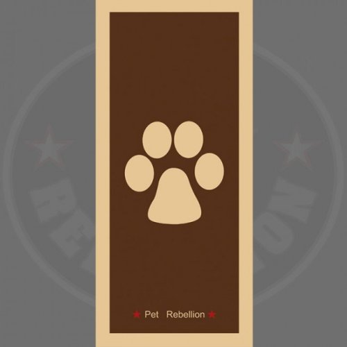 Brown Dog's Stop Muddy Paws Mat - Pet Barrier Rug 45 x Republic 100cm Dog -  paws stop muddy pet barrier rug brown 45 x republic 100 cm dog rebellion