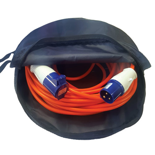 Mains Hook-up Cable Storage Bag Caravan Motorhome Boat Camper EHU Hose Hook Up