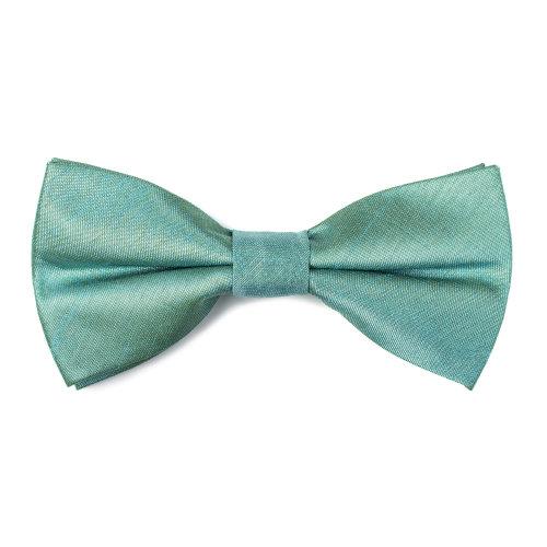 Fog Green Shantung Bow Tie #AB-BB1005/11
