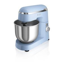 Swan Vintage Stand Mixer 4.2L 600W - Blue (Model No. SP25010BLN)
